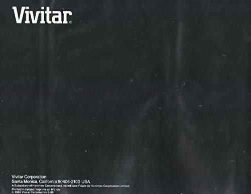 (Vivitar 2000AF / 3000AF / 5000AF 35MM Slide Projector Manual (Original))