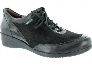 Mephisto - Zapatillas para hombre negro
