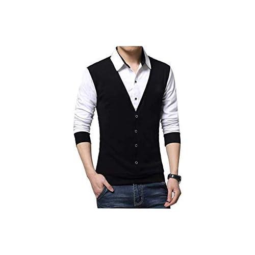 31BES8I6XjL. SS500  - SEVEN SEA Black Waist Coat