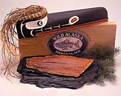 Smoked Sockeye (Red) Salmon-1/2 pound fillet by Wild Alaskan Smoked Salmon & Seafood