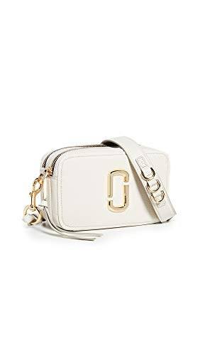 Marc Jacobs Women's The Softshot 21 Bag, Cream, Off White, One Size