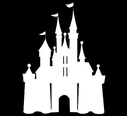 LLI Castillo de Disney, calcomanía de Vinilo, para Coches ...