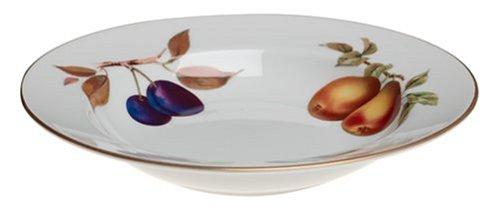 Royal Worcester Evesham Gold Porcelain 9-Inch Soup Plate (Gold Royal Worcester Evesham)
