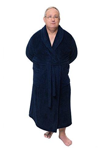 5xl 'harrison Marino Wohl Dich Colección Negro Abrigo Sophie Bath Azul De Home Albornoz La Hogar Bernard Microfibra amp; Fühl Upnxwa
