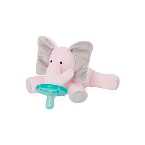 WubbaNub Infant Pacifier - Pink Elephant by WubbaNub (Image #1)