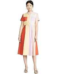 Women's Colorblock Midi Dress