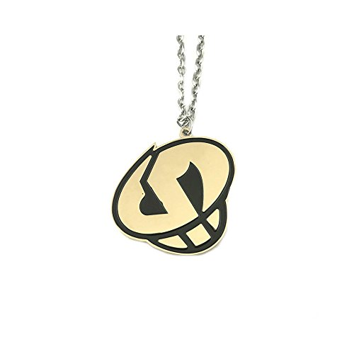 Pokemon Game Team Skull Cosplay Silver Tone Necklace w/Gift Box by Superheores -