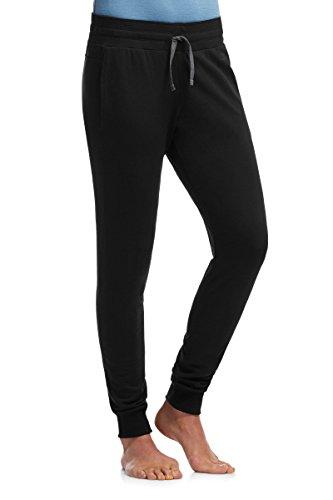 Icebreaker Pocket - Icebreaker Merino Women's Crush Pants, Black/Charcoal, X-Large
