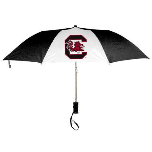 Seven Sons Rainmate Rainwear NCAA South Carolina Fighting Gamecocks 42-Inch Folding Umbrella