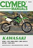 Kawasaki KX80, KX85 & KX100: KX80 1991-2000, KX85 and KX85-II 2001-2016 and KX100 1989-2016 - See more at: ... X85-and-KX85-II-2001-2016-and-KX100-1989-2016 by Editors of Clymer Manuals (2016-10-01)