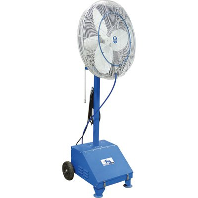 Schaefer VersaFog High-Pressure Misting Fan - 24in., 6,280 CFM, 0.75 GPM, 3/4 HP, Model# VF24 by Schaefer