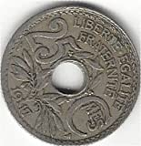 One French Coin%3A A 25 Centime Coin Fro