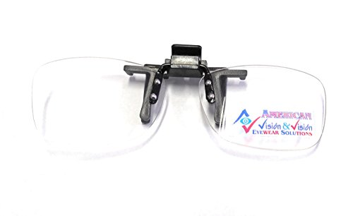 Clip On Reading Glasses 3.0, Flip Up Hassle Free Lenses, Readers 3.0, Magnifiers +3.00 By American Vision & Vision
