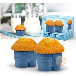 4-Pack FRED & FRIENDS Muffin Top Baking Cup