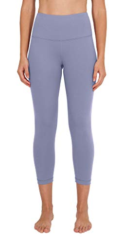 90 Degree By Reflex - High Waist Tummy Control Shapewear - Power Flex Capri - Blue Moon - XL