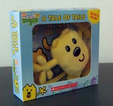 Toy Wow Wow Wubbzy - A Tale of Tails Book & Plush Book