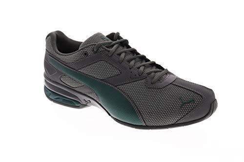 PUMA Men's Tazon 6 Sneaker, darkshadow-White-ponderosapine, 10.5 M US (Watches Puma Man)