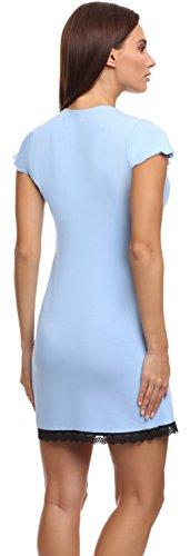 Merry Donna Da 1812 Camicia Chiaro Z426 Style Blu Notte H61SrxHwq