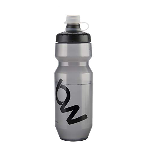 THRLEGBIRD Cycling Sports Bottle 24 oz, BPA-Free Insulated Water Bottle with Leak and Dust Proof Design Bonus Anti-dust Cap for Sports, Running, Yoga, Fitness, Camping Black