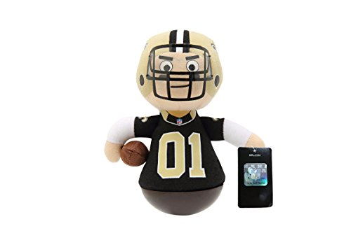 NFL Rock'emz Collectible Sports Figurine - 7 in. Tall (New Orleans Saints)