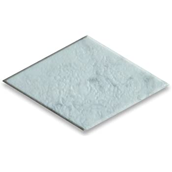 Carrara White Italian Carrera Marble Rhomboid Diamond Tile 2 1//2 x 5 Tumbled