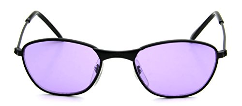 New Cute Tiny Small Baby Sunglasses 0-12 Months Black Metal Lightweight Purple - Sunglasses New 2014
