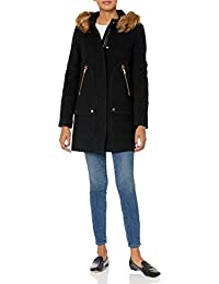 J.Crew Women's Chateau Parka in Italian Stadium-Cloth Wool