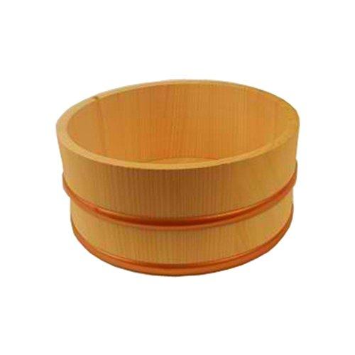 Japanese Hinoki Bath Bucket, Naturally Antibacterial