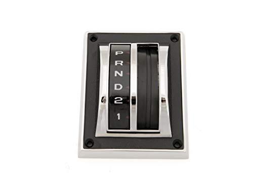 eClassics 67 68 Ford Mustang Shift Selector Bezel w/Dial & ()