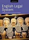 English Legal System by Catherine Elliott (2005-04-14)