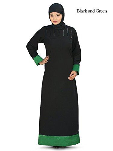 Green Black und 133 Burqa Sportkleidung AY Freizeit Kashibo Abaya MyBatua amp; ZnP11a