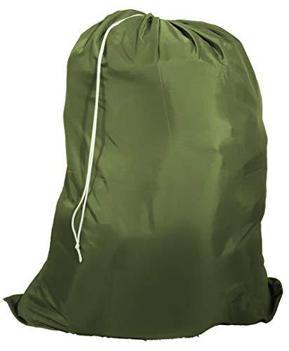 (Owen Sewn Heavy Duty 40inx50in Nylon Laundry Bag (Olive))