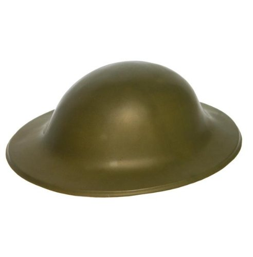 Green Plastic Army Tommy Helmet Henbrandt