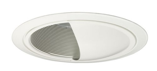 Juno Lighting 262B-WH 6-Inch Wall Wash Scoop, Black Baffle with White (Alzak Wall Wash)