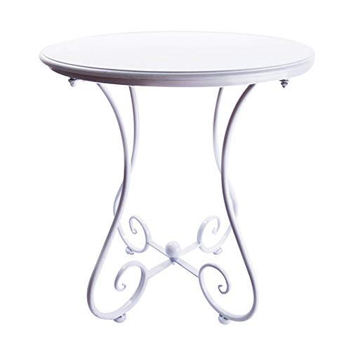 Table - Sofa Table, Wrought Iron Telephone Table, Bedside Table, Small Table Coffee Table (Wrought Telephone Iron Table)