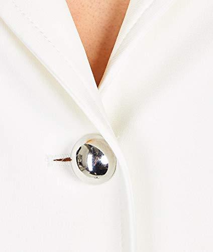 Pinko Blazer Blanco 1g13u06151z10 Mujer Poliéster SqTSOw