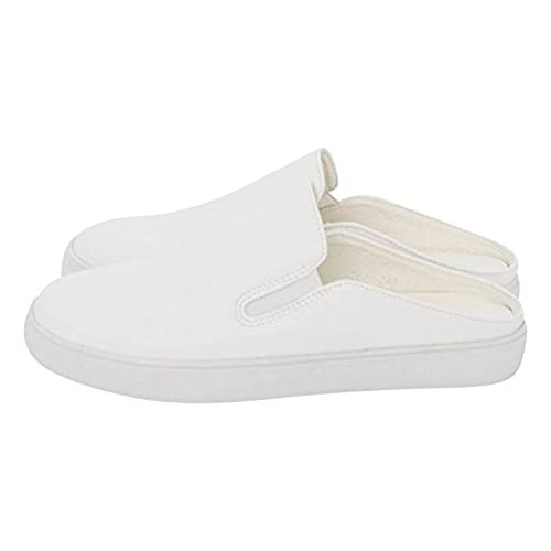 41400a7ac32 AnnaKastle Womens Soft Vegan Leather Comfort Slip Ons Backless Slide  Sneaker high-quality
