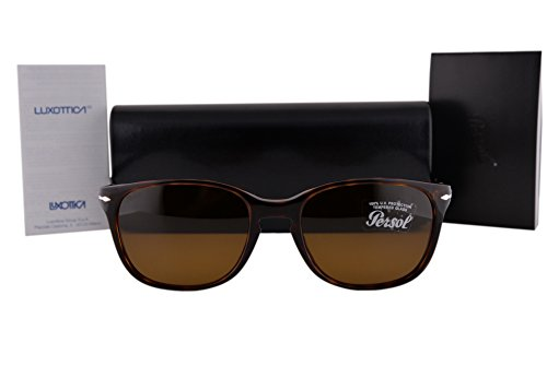 Persol PO3133S Sunglasses Havana w/Brown Lens 901533 PO3133 by Persol