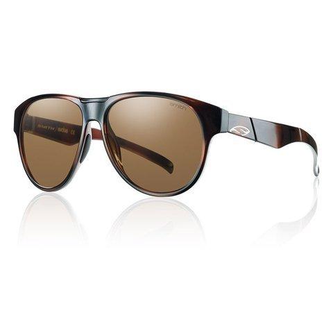 Smith Optics Townsend Sunglasses, Tortoise Frame, Polar Brown Carbonic TLT Lenses