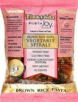 Tinkyada Brown Rice Vegetable Pasta Spirals Gluten Free -- 12 oz