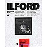 Ilford Ilfospeed RC Deluxe Resin Coated Black & White Enlarging Paper - 5x7''-100 Sheets - 1M - Glossy Surface - Grade 2 - for commercial, press, industrial, advertising, and display work