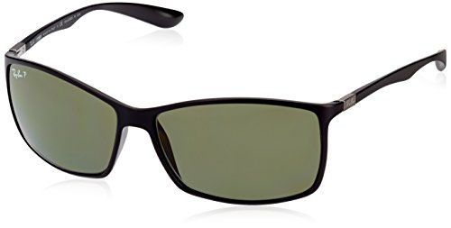 Ray-Ban Sunglasses - RB4179 Liteforce  Frame Matte Black Lens Polarized Green