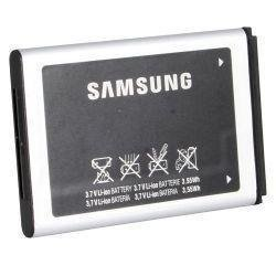 Price comparison product image SAMSUNG OEM AB553446BA BATTERY FOR Samsung SCH-A645 SCH-U340 SGH-A837 Rugby SGH-D347 SGH-D407 SGH-T119 SPH-M240 SPH-M320 SPH-M580 - Non-Retail Packaging - Black