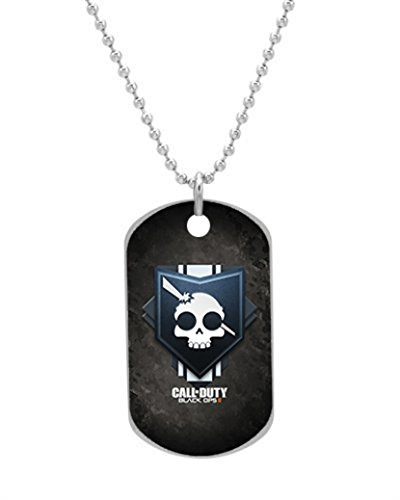 Call Of Duty Black Ops 2 Oval Image Design Dog Tag Dogtag Pet tags Necklace