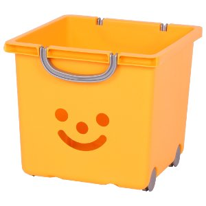 Kids storage box with wheels kids storage kids toys - Etagere jouet bac rangement ...