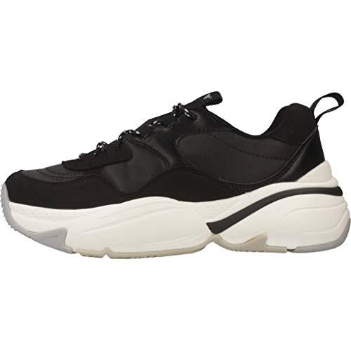 Unisex Zapatillas 10 Pu Adulto negro Negro Nylon Aire serraje Victoria qFIPXwt