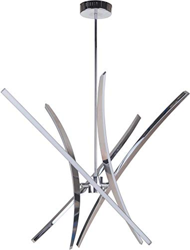 Craftmade Aura Foyer, Chrome 5-Light (19