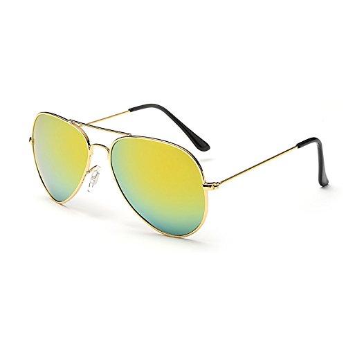 Sol C7 de polarizadas C6 JF6203 JF6203 Gold Hombres Sol Gafas Gafas Gafas Gafas de UV400 100 Hombres Sunglasses Macho Sol para Plata Espejos de TL Frame polarizadas de Puntos Negros Guía qzF8nvCw