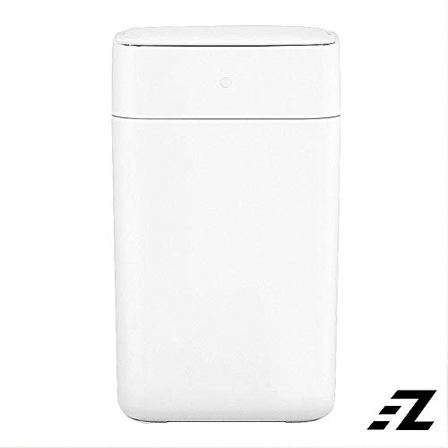 EZ Home Mijia Townew T1 Intelligent Sensor Smart Trash Can Bin Fully Automatic Auto Sealing LED, White