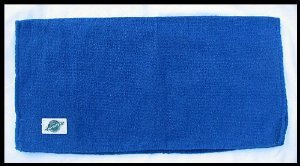 Mayatex Ranger Hogan Solid Saddle Blanket, Royal Blue, 36 x 34-Inch